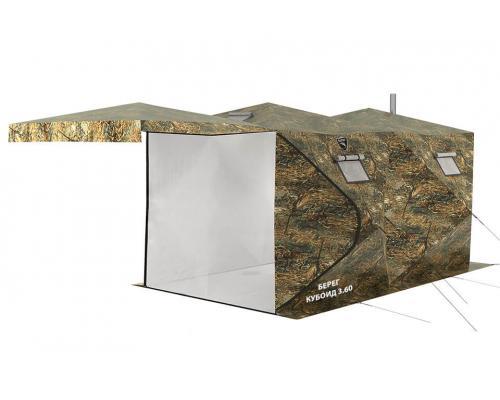 Палатка Берег Кубоид 3.60 двухслойный