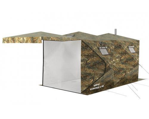 Палатка Берег Кубоид 4.40 двухслойный